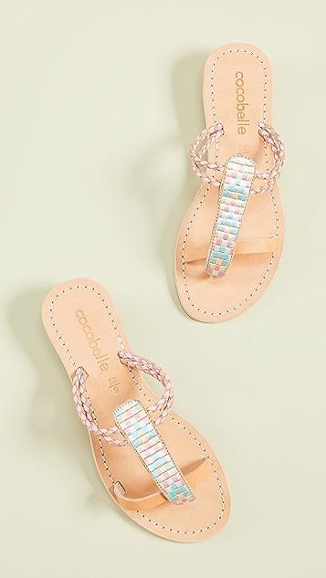 Cocobelle Cali 几何凉鞋