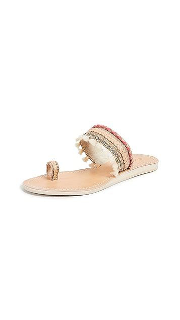 Cocobelle Mahal 趾环凉鞋