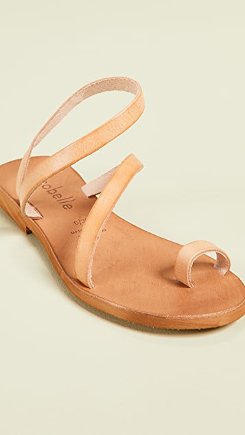 Cocobelle 新月系带凉鞋
