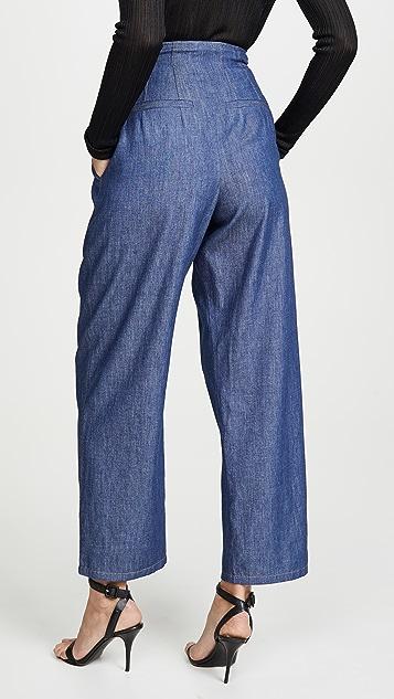 Colovos 超高腰长裤