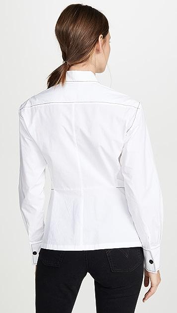 Colovos 捏褶衬衫