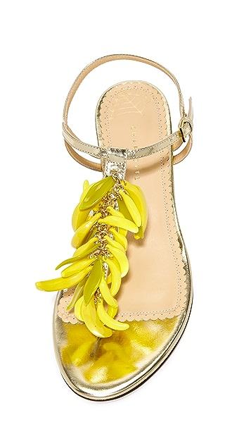 Charlotte Olympia 香蕉凉鞋