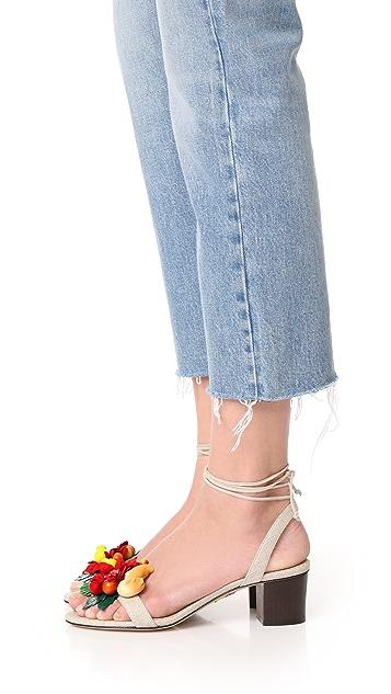 Charlotte Olympia 热带风情 Tara 凉鞋