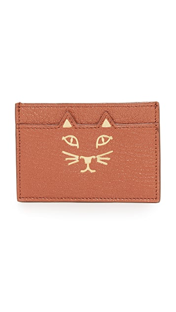 Charlotte Olympia 夏洛特 奥林匹亚 Feline 卡片包