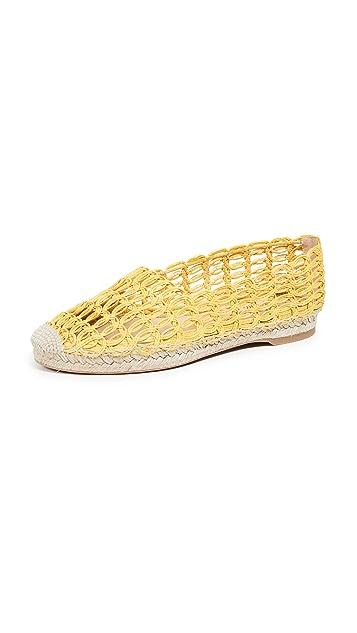 Charlotte Olympia 编织底便鞋