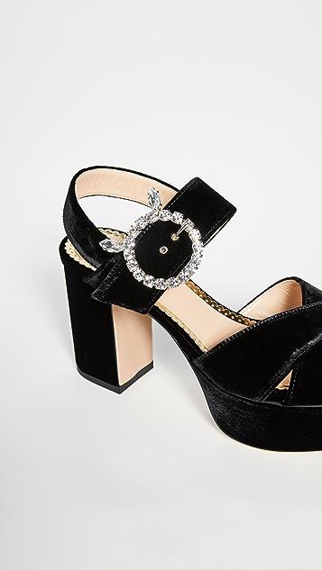 Charlotte Olympia Aristocat 凉鞋