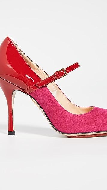 Charlotte Olympia Mary Jane 浅口鞋