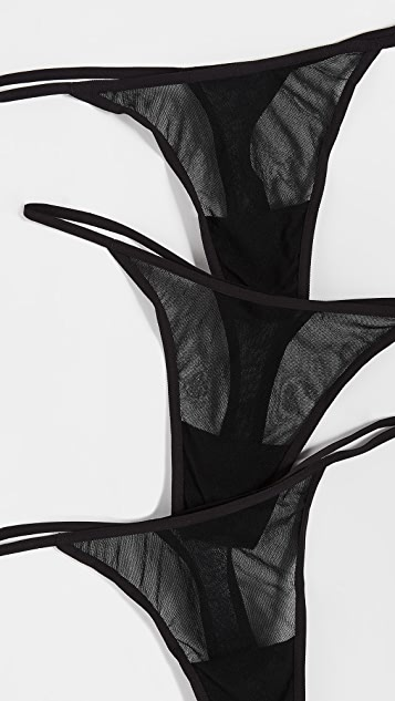 Cosabella Soire 3 件装丁字裤