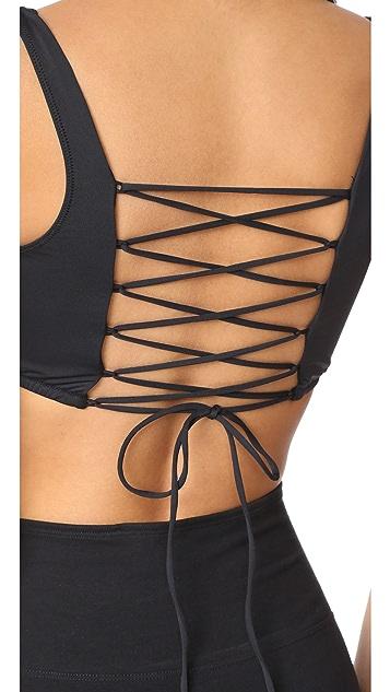 Cosabella Bisou Move 系带背面运动文胸