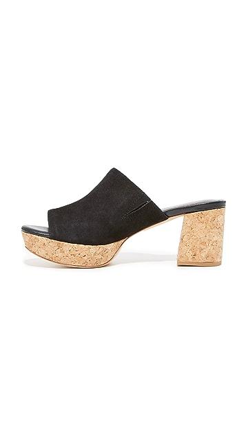 Charlotte Stone Maria 厚底穆勒鞋