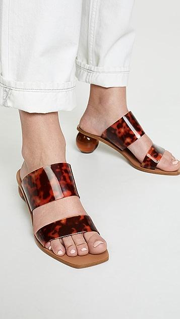 Cult Gaia Jila 高跟凉拖鞋