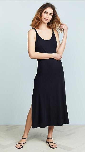 Current/Elliott 扭褶连衣裙