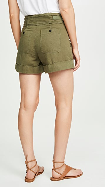 Current/Elliott 休闲军旅风格短裤