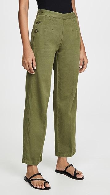 Current/Elliott 军旅风格中长裤