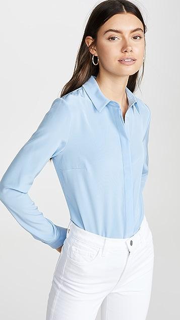 Cushnie 系扣领衬衫