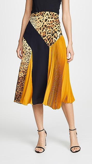 Cushnie 高腰中长半身裙