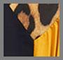 棕褐色豹纹/深海蓝/复古金