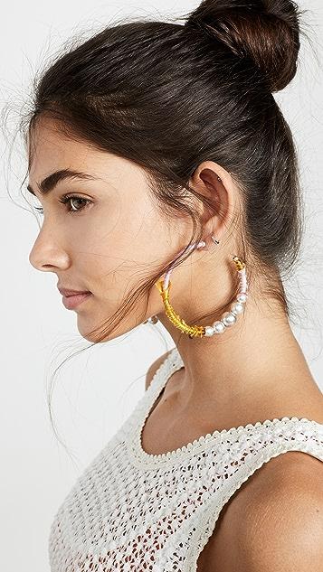 DANNIJO Kapowski 圈式耳环
