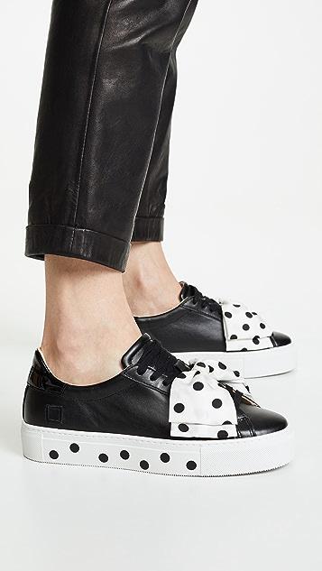 D.A.T.E.  Nouvelle Pouf Pois 运动鞋