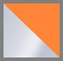 透明荧光橙色