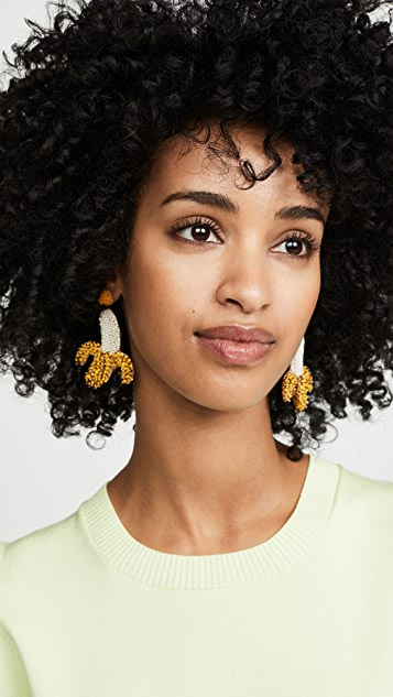 Deepa Gurnani 香蕉耳环