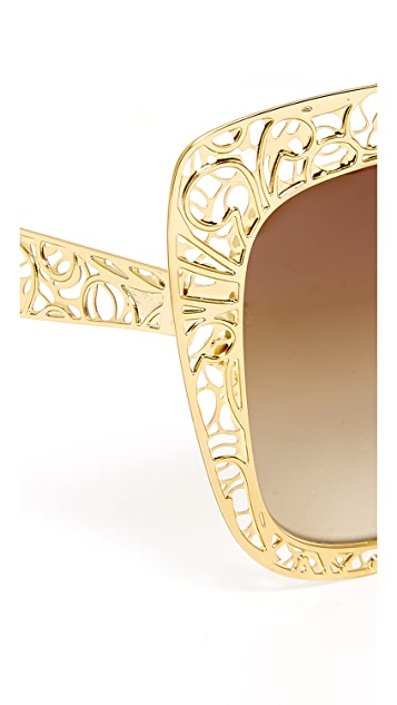 Dolce & Gabbana 蕾丝太阳镜