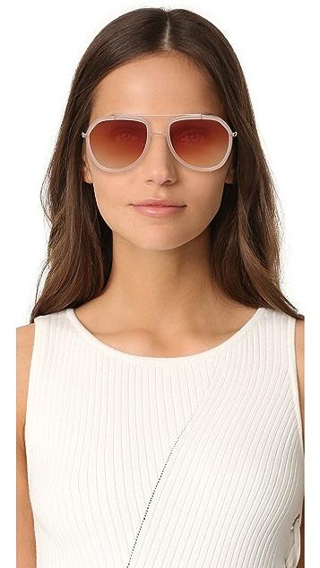 Dolce & Gabbana 飞行员太阳镜