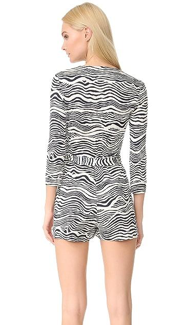 Diane von Furstenberg Celeste Two 短款连身衣