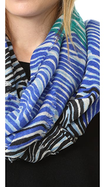 Diane von Furstenberg Kenley New Wave 围巾