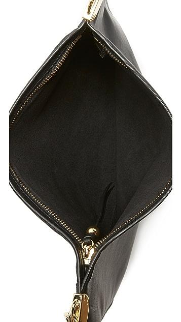 Diane von Furstenberg 皮和反绒皮包