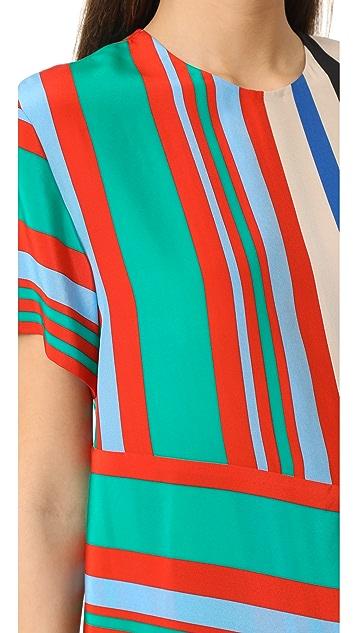 Diane von Furstenberg DVF 黛安 冯芙丝汀宝 短袖 T 恤