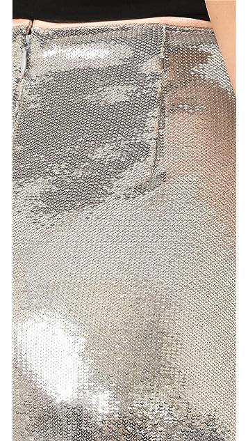 Diane von Furstenberg 亮片铅笔裙