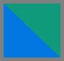 森林绿/宝蓝色