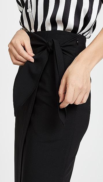 Diane von Furstenberg 侧面结饰半身裙
