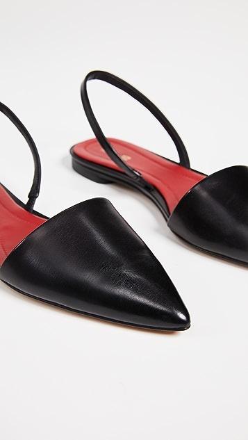Diane von Furstenberg Koko 露跟平底鞋