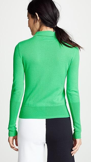 Diane von Furstenberg 马球衫式毛衣