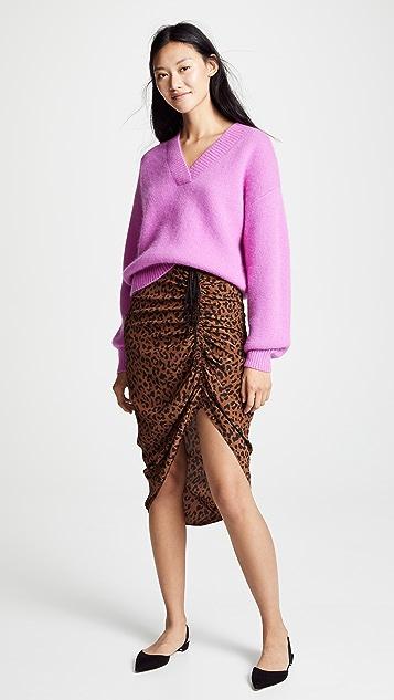 Diane von Furstenberg 安哥拉兔毛针织衫