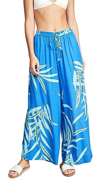 Diane von Furstenberg 海滩风裤裙