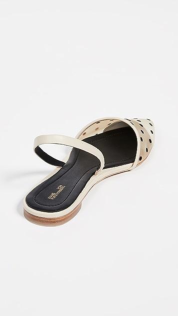 Diane von Furstenberg Koko 4 露跟平底鞋