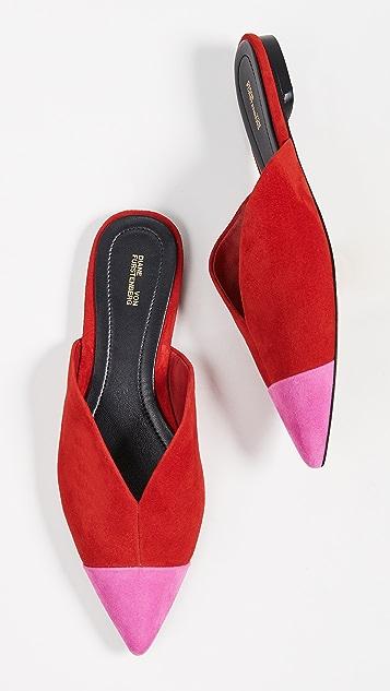 Diane von Furstenberg Love 穆勒鞋