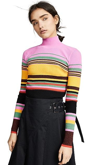 Diane von Furstenberg Dara 高领上衣