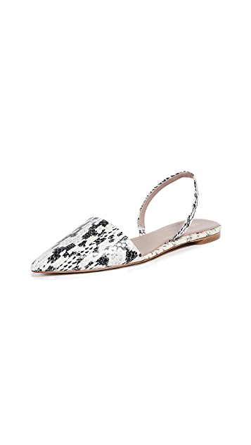 Diane von Furstenberg Koko 5 露跟平底鞋