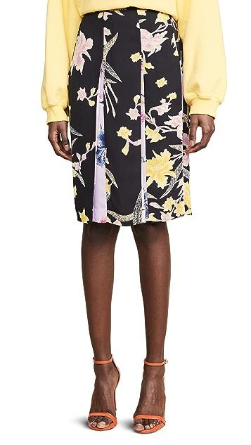 Diane von Furstenberg 猫眼褐半身裙