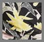 浮动花束黑色