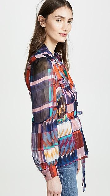 Diane von Furstenberg Joanna 女式衬衫