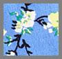 小花藤蔓蓝色
