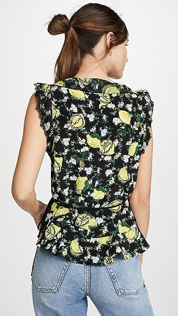 Diane von Furstenberg Peona 女式衬衫