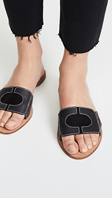 Diane von Furstenberg 链条凉拖鞋