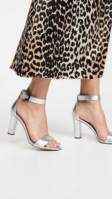 Diane von Furstenberg 90mm 链条凉鞋