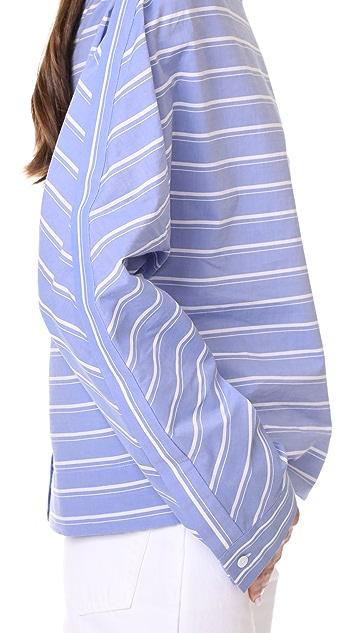 Dion Lee 十字衣襟衬衣